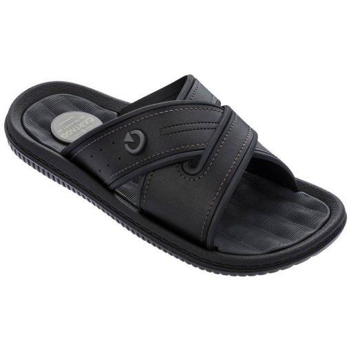 Cartago Fiji IV Slide férfi papucs - fekete/barna
