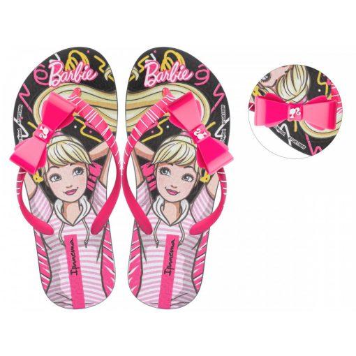 Ipanema Barbie Style Kids gyerek papucs - fekete/pink