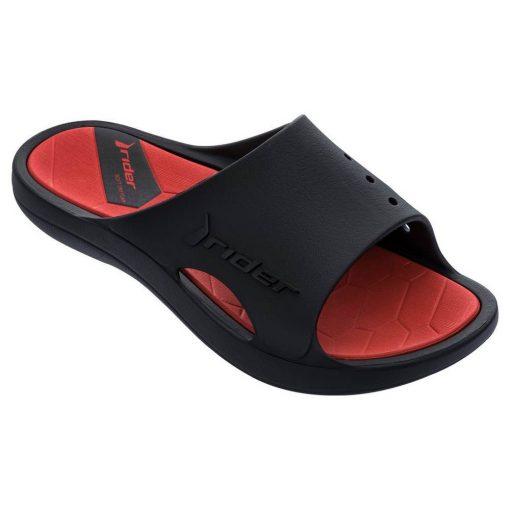 Rider Bay X férfi papucs - fekete/piros