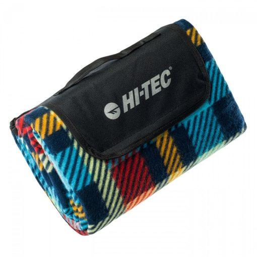 Hi-Tec piknik takaró (130x150 cm) - kék/piros kockás